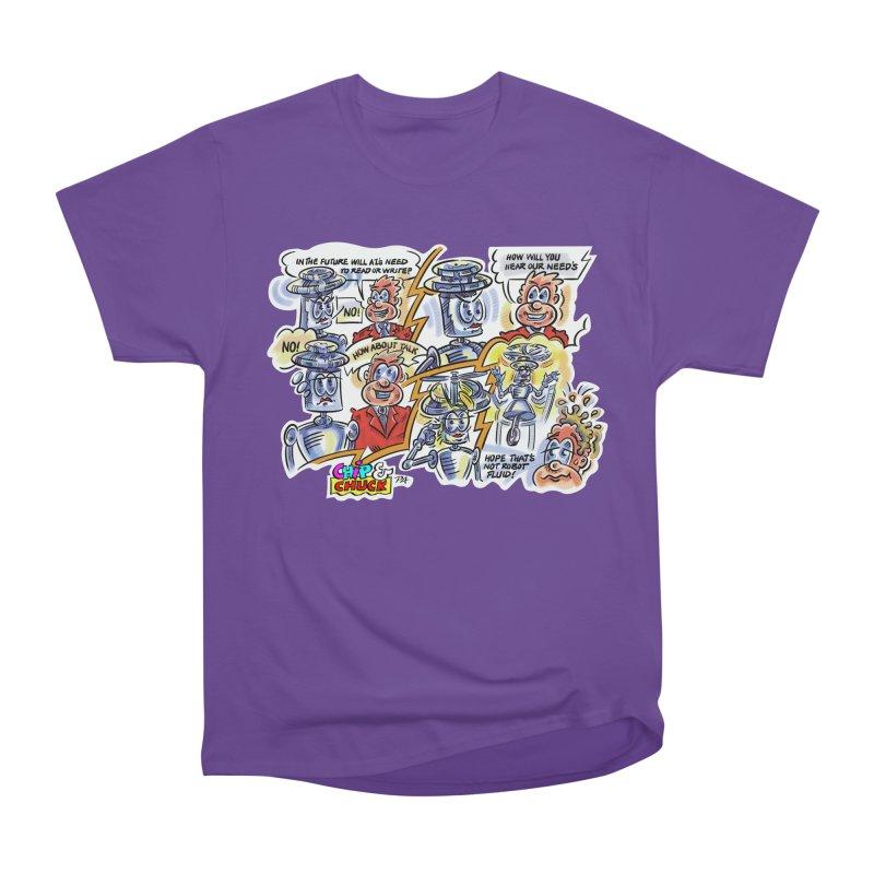 CHIP fly and robot fluid Women's Heavyweight Unisex T-Shirt by thethinkforward's Artist Shop