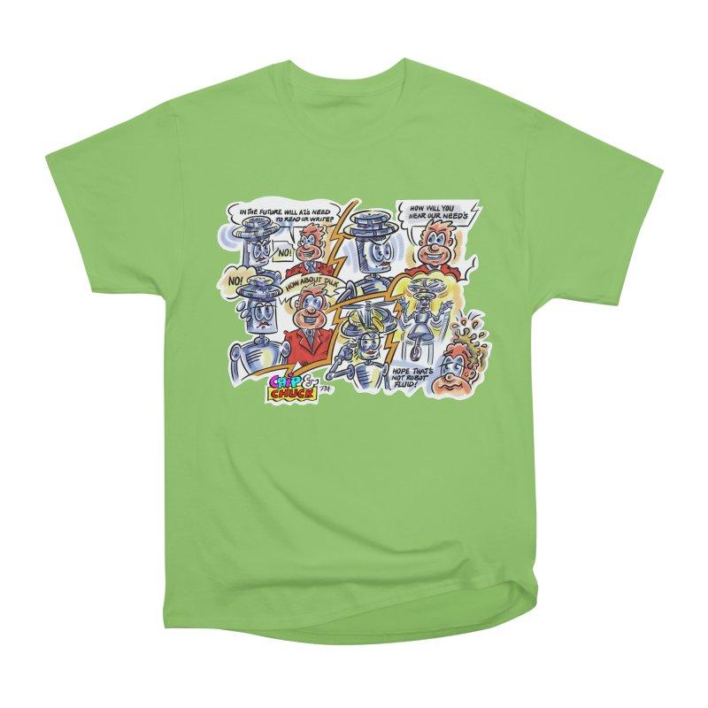 CHIP fly and robot fluid Men's Heavyweight T-Shirt by thethinkforward's Artist Shop