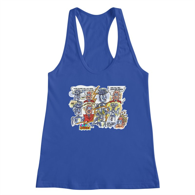 CHIP fly and robot fluid Women's Tank by thethinkforward's Artist Shop