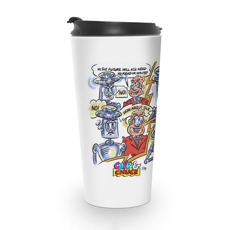 CHIP fly and robot fluid Accessories Travel Mug by thethinkforward's Artist Shop