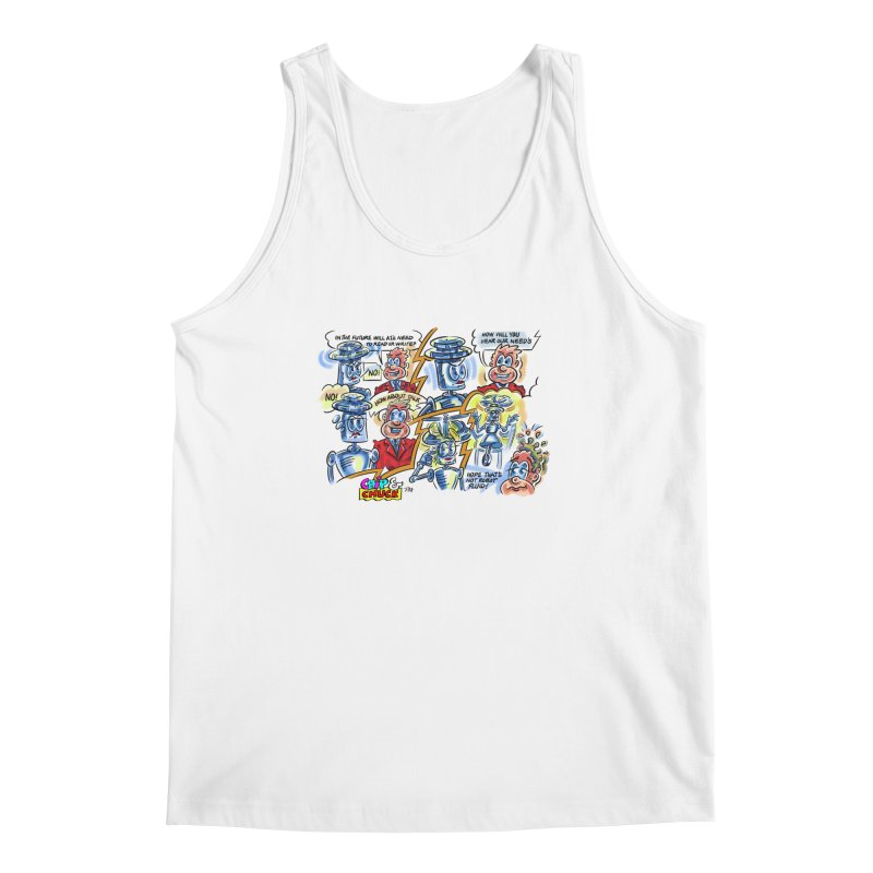CHIP fly and robot fluid Men's Regular Tank by thethinkforward's Artist Shop