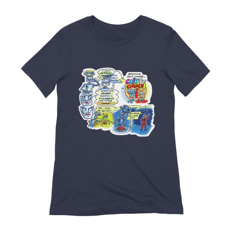 CHIP becomes aware Women's Extra Soft T-Shirt by thethinkforward's Artist Shop