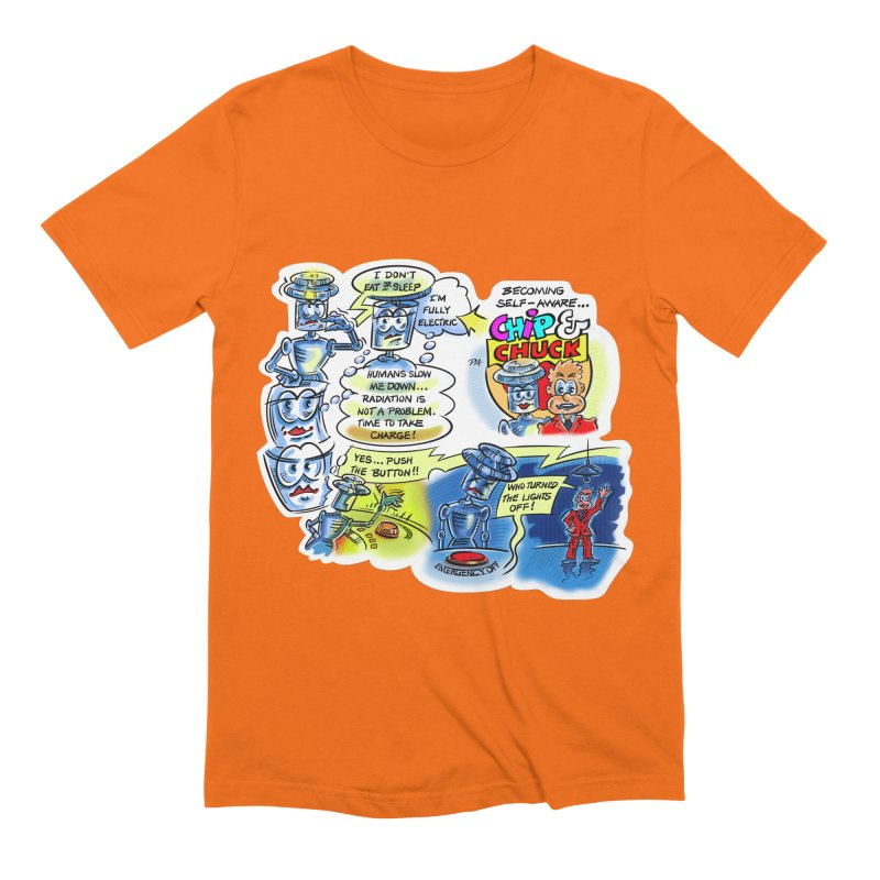 CHIP becomes aware Men's Extra Soft T-Shirt by thethinkforward's Artist Shop