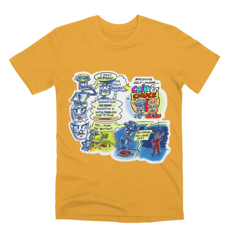 CHIP becomes aware Men's Premium T-Shirt by thethinkforward's Artist Shop