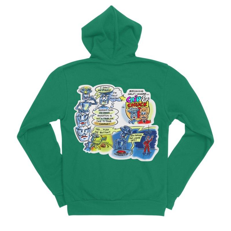 CHIP becomes aware Women's Sponge Fleece Zip-Up Hoody by thethinkforward's Artist Shop