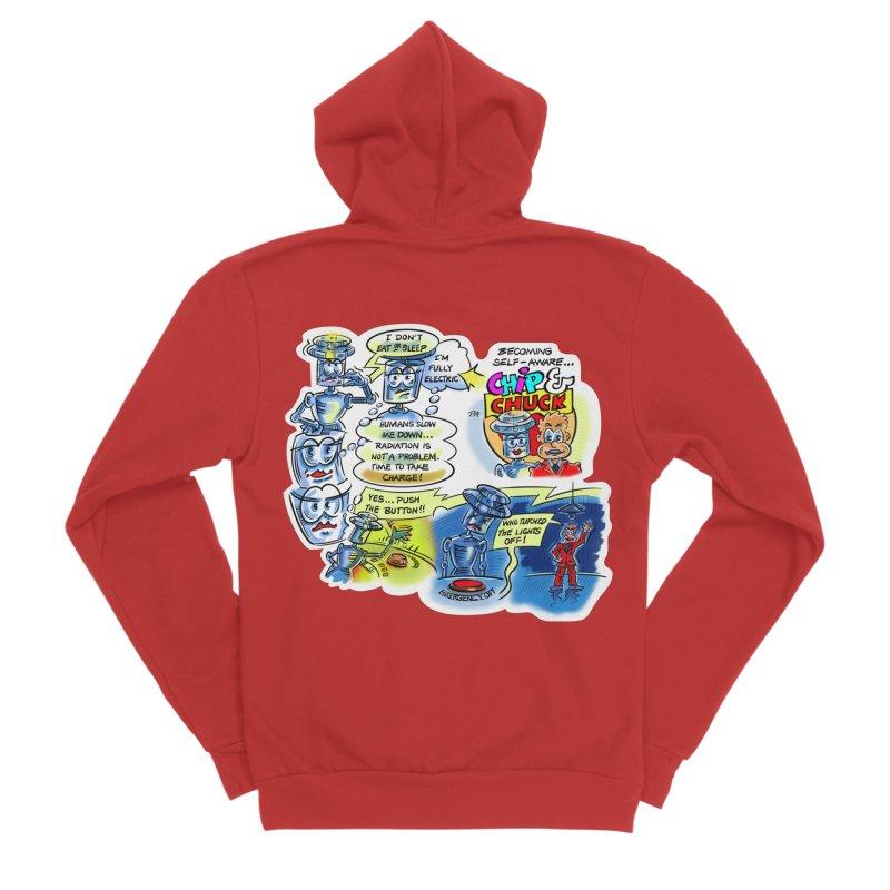 CHIP becomes aware Men's Sponge Fleece Zip-Up Hoody by thethinkforward's Artist Shop