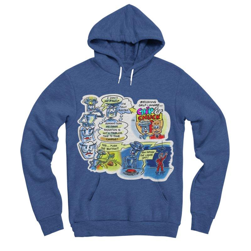 CHIP becomes aware Women's Sponge Fleece Pullover Hoody by thethinkforward's Artist Shop