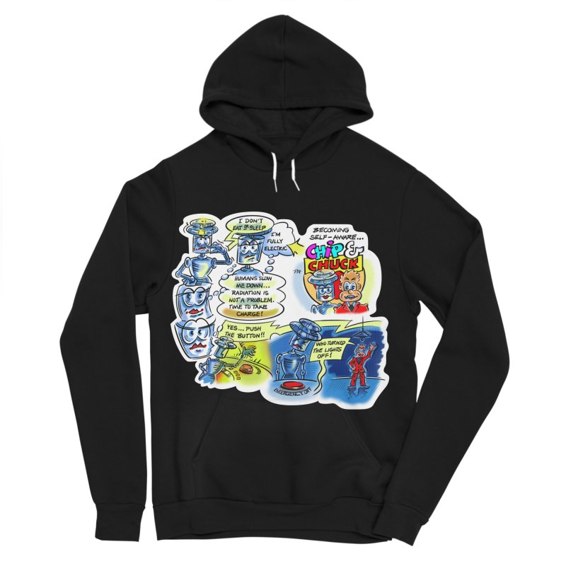CHIP becomes aware Women's Sponge Fleece Pullover Hoody by thethinkforward's Artist Shop