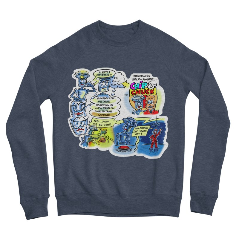 CHIP becomes aware Women's Sponge Fleece Sweatshirt by thethinkforward's Artist Shop