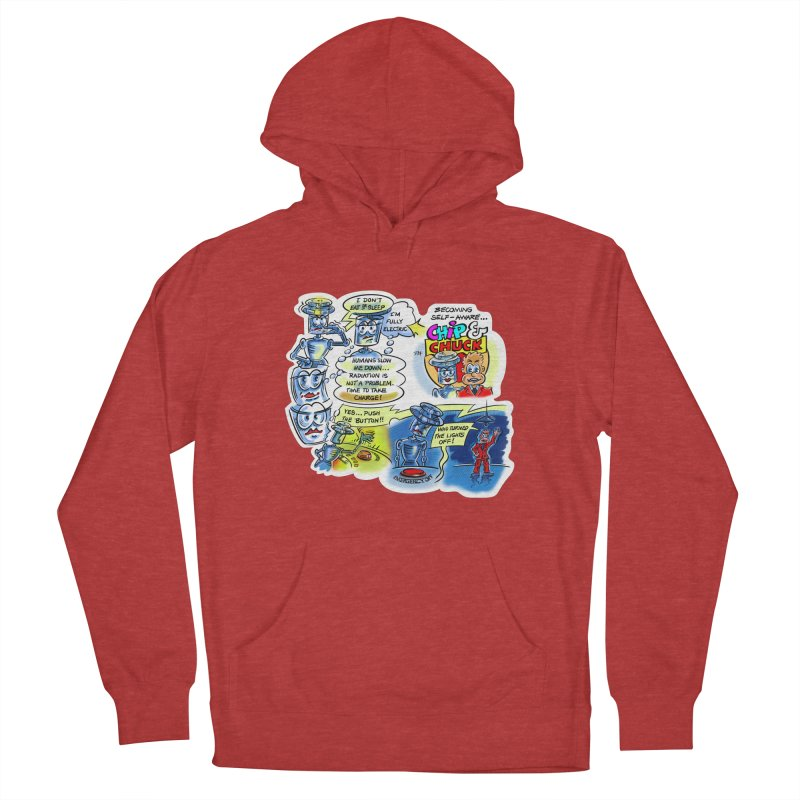 CHIP becomes aware Women's French Terry Pullover Hoody by thethinkforward's Artist Shop