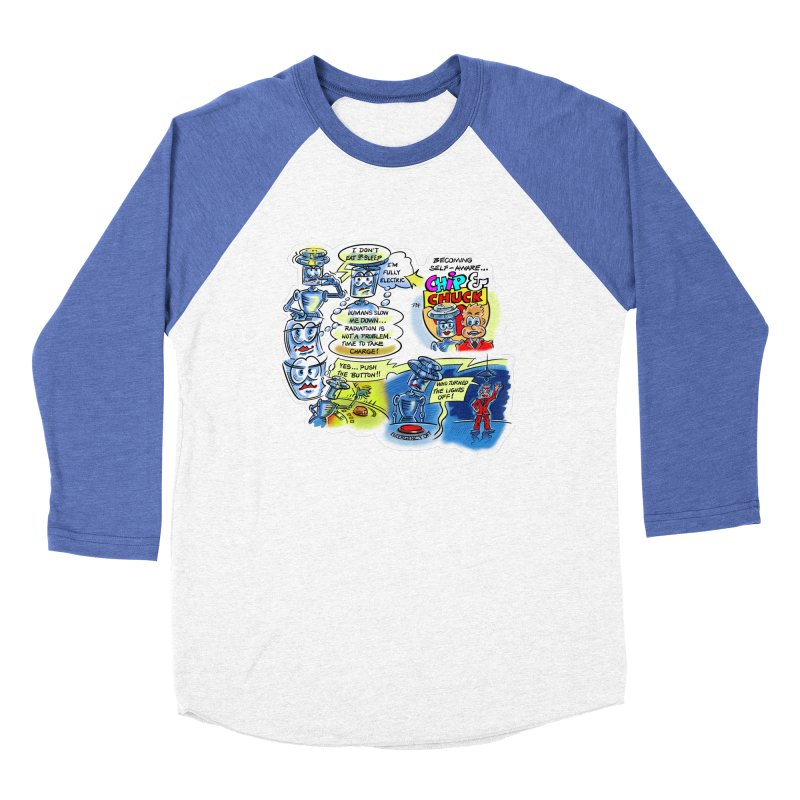CHIP becomes aware Women's Baseball Triblend Longsleeve T-Shirt by thethinkforward's Artist Shop
