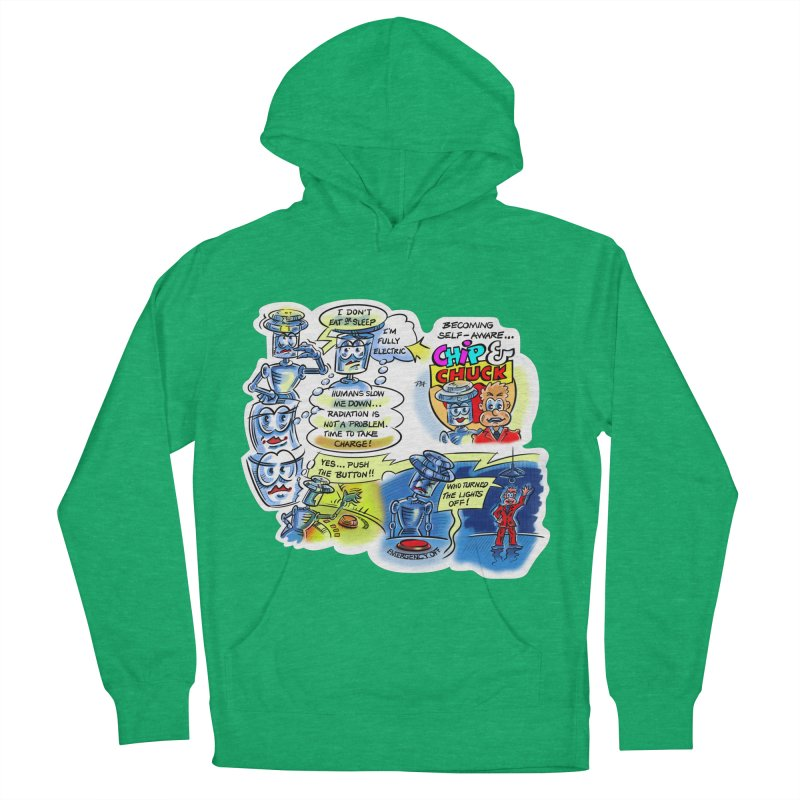 CHIP becomes aware Men's French Terry Pullover Hoody by thethinkforward's Artist Shop