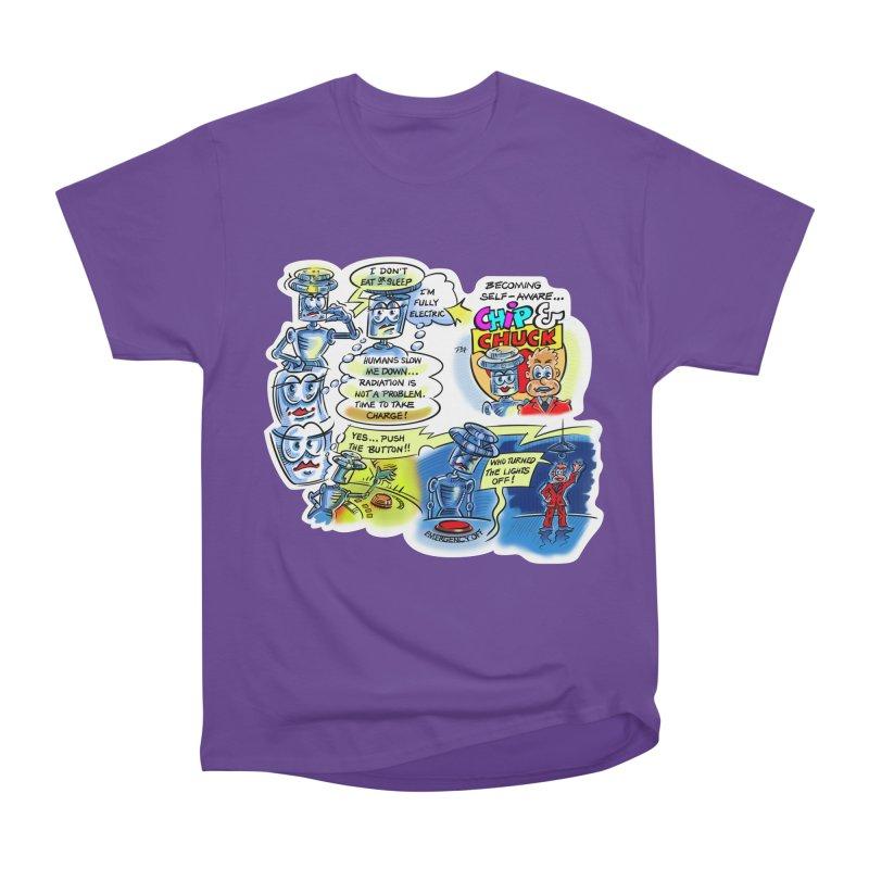 CHIP becomes aware Women's Heavyweight Unisex T-Shirt by thethinkforward's Artist Shop