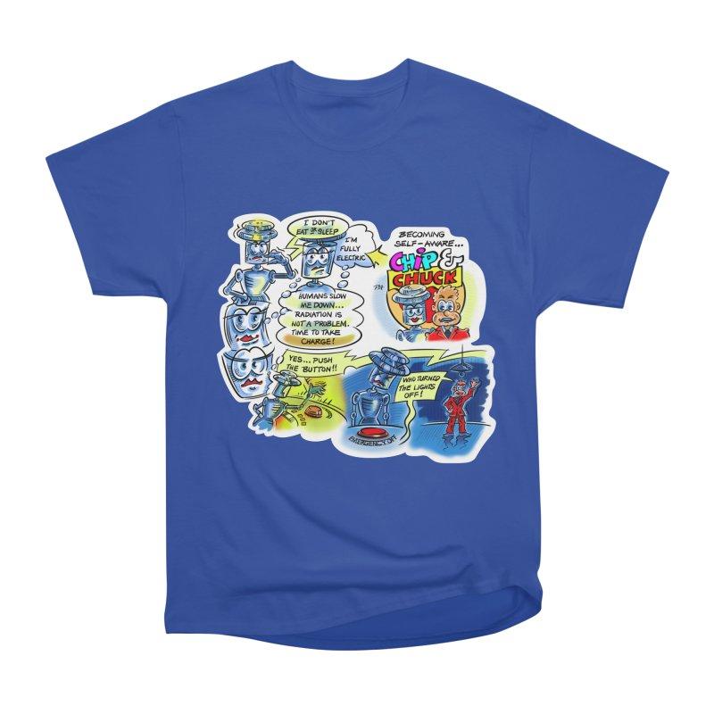 CHIP becomes aware Men's Heavyweight T-Shirt by thethinkforward's Artist Shop