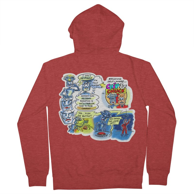 CHIP becomes aware Women's French Terry Zip-Up Hoody by thethinkforward's Artist Shop