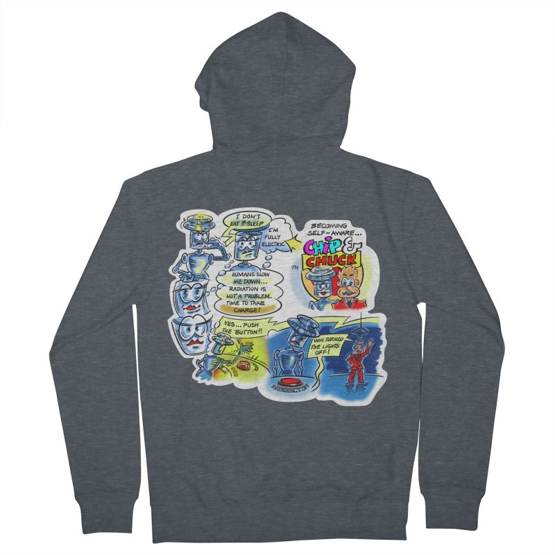 CHIP becomes aware Men's French Terry Zip-Up Hoody by thethinkforward's Artist Shop