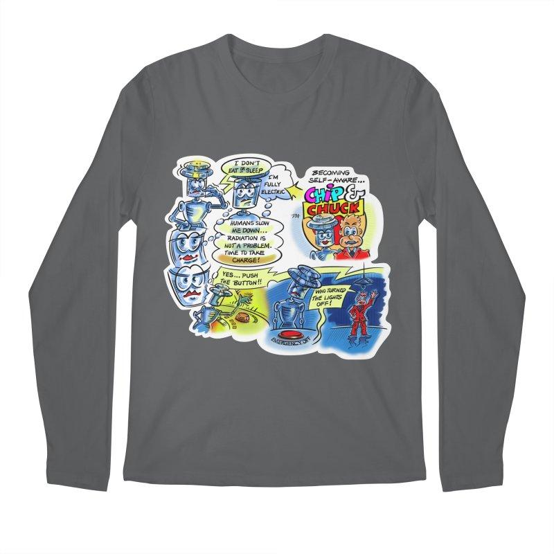CHIP becomes aware Men's Longsleeve T-Shirt by thethinkforward's Artist Shop