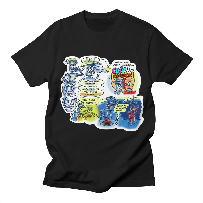 CHIP becomes aware Women's Regular Unisex T-Shirt by thethinkforward's Artist Shop