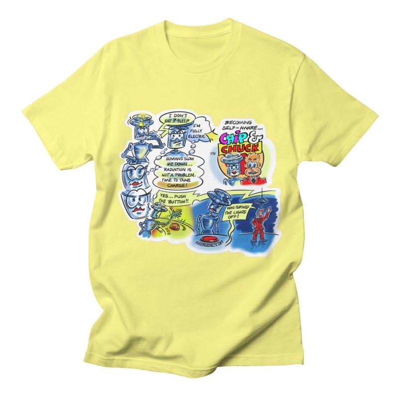 CHIP becomes aware Men's Regular T-Shirt by thethinkforward's Artist Shop
