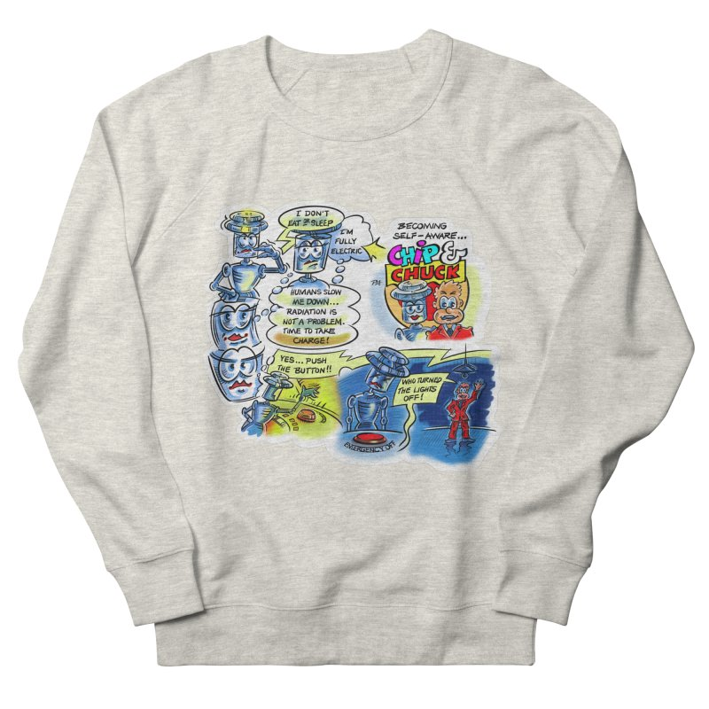 CHIP becomes aware Women's French Terry Sweatshirt by thethinkforward's Artist Shop