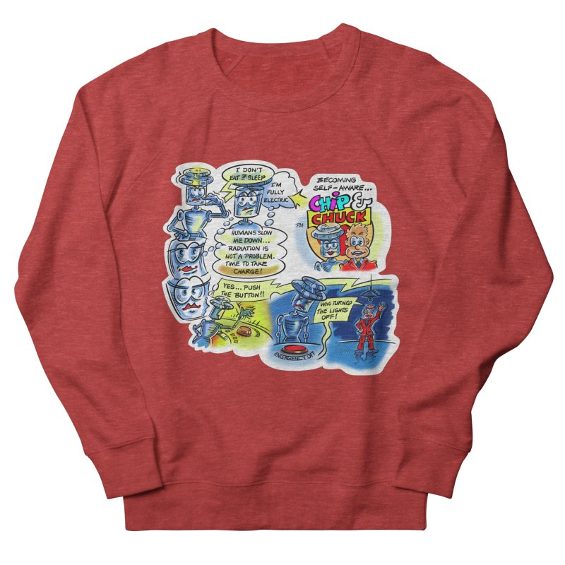 CHIP becomes aware Men's French Terry Sweatshirt by thethinkforward's Artist Shop