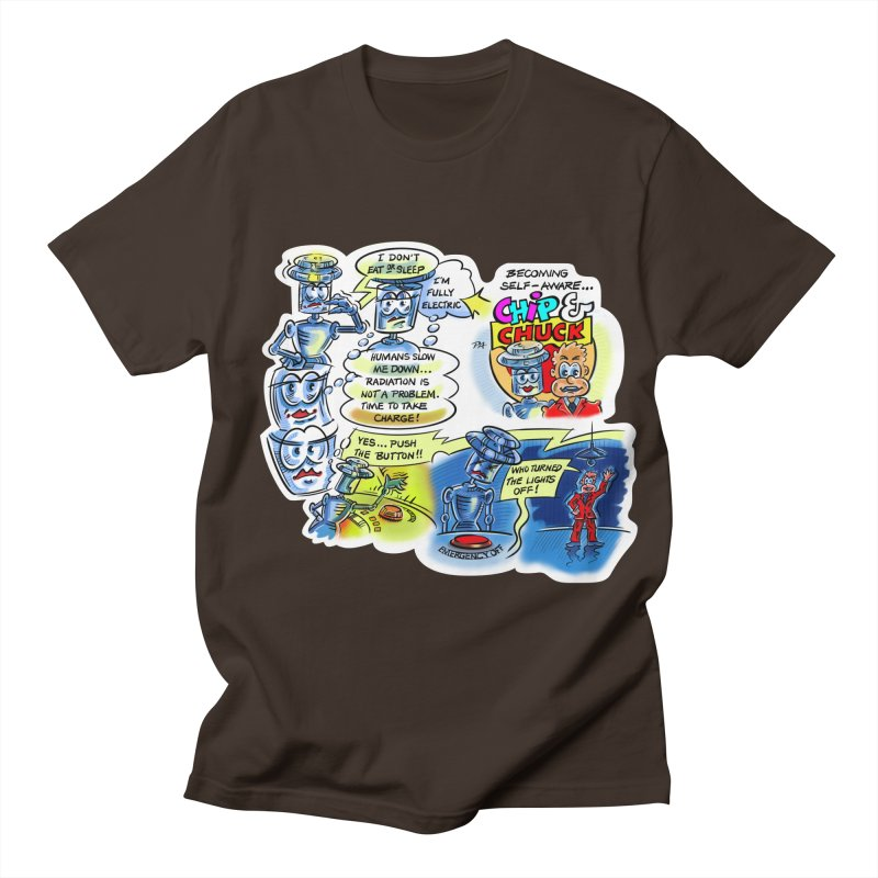 CHIP becomes aware Men's Regular T-Shirt by thethinkforward's Artist Shop