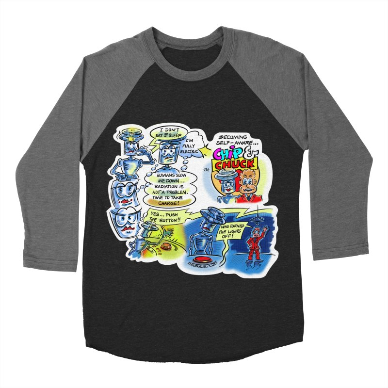 CHIP becomes aware Men's Baseball Triblend Longsleeve T-Shirt by thethinkforward's Artist Shop