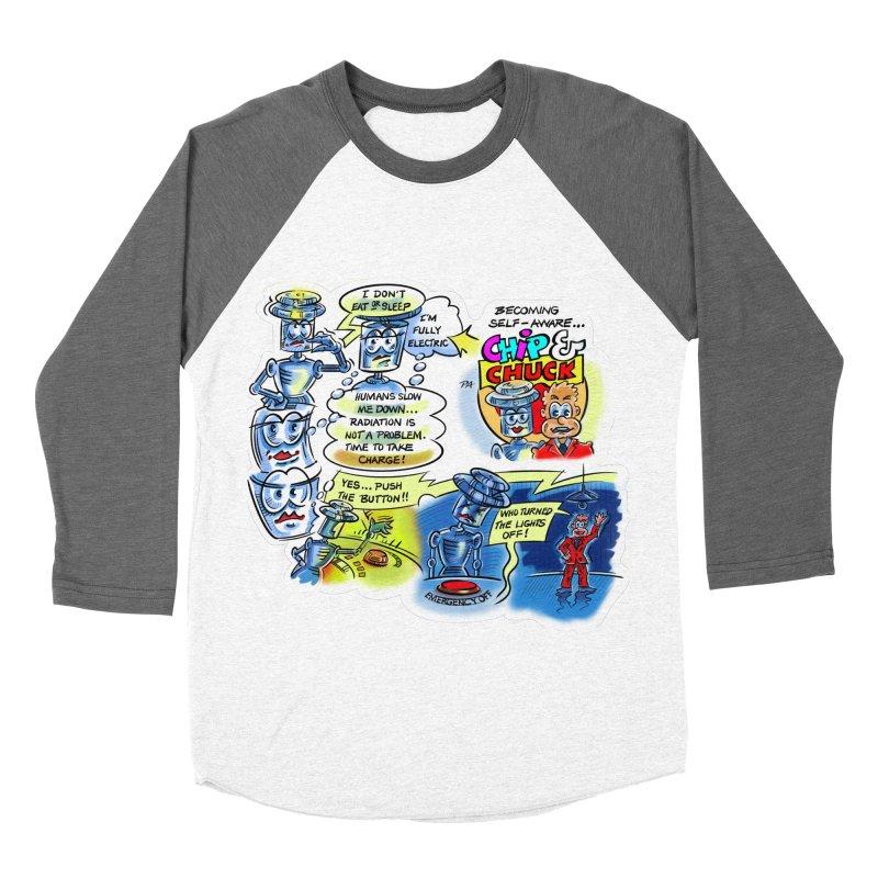 CHIP becomes aware Men's Baseball Triblend Longsleeve T-Shirt by thethinkforward's Artist Shop