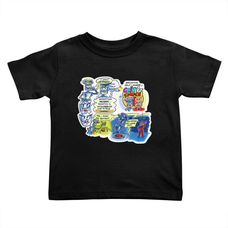CHIP becomes aware Kids Toddler T-Shirt by thethinkforward's Artist Shop