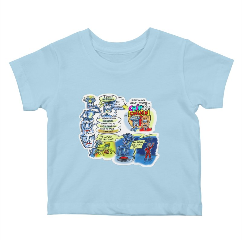 CHIP becomes aware Kids Baby T-Shirt by thethinkforward's Artist Shop