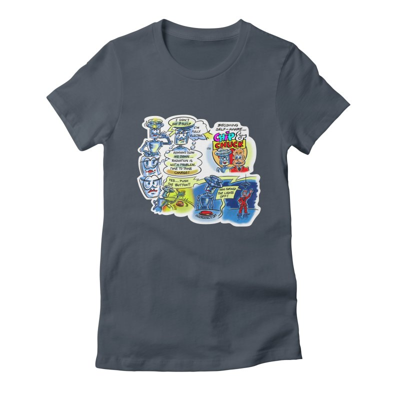 CHIP becomes aware Women's T-Shirt by thethinkforward's Artist Shop