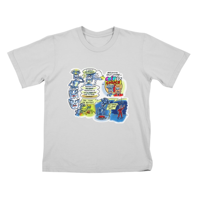 CHIP becomes aware Kids T-Shirt by thethinkforward's Artist Shop