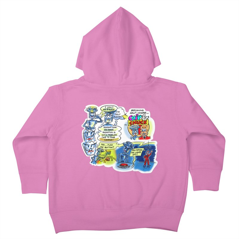 CHIP becomes aware Kids Toddler Zip-Up Hoody by thethinkforward's Artist Shop