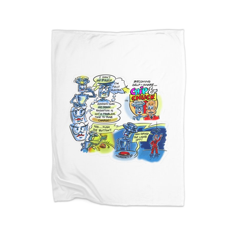 CHIP becomes aware Home Blanket by thethinkforward's Artist Shop