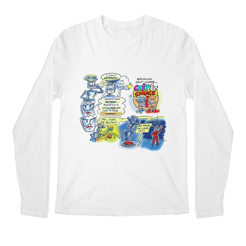 CHIP becomes aware Men's Longsleeve T-Shirt by thethinkforward's Artist Shop
