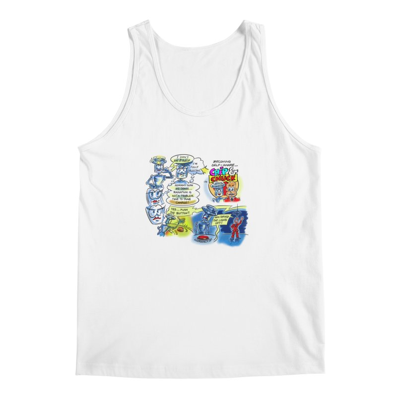 CHIP becomes aware Men's Regular Tank by thethinkforward's Artist Shop