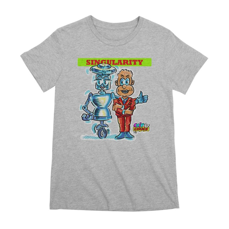 Singularity Women's Premium T-Shirt by thethinkforward's Artist Shop
