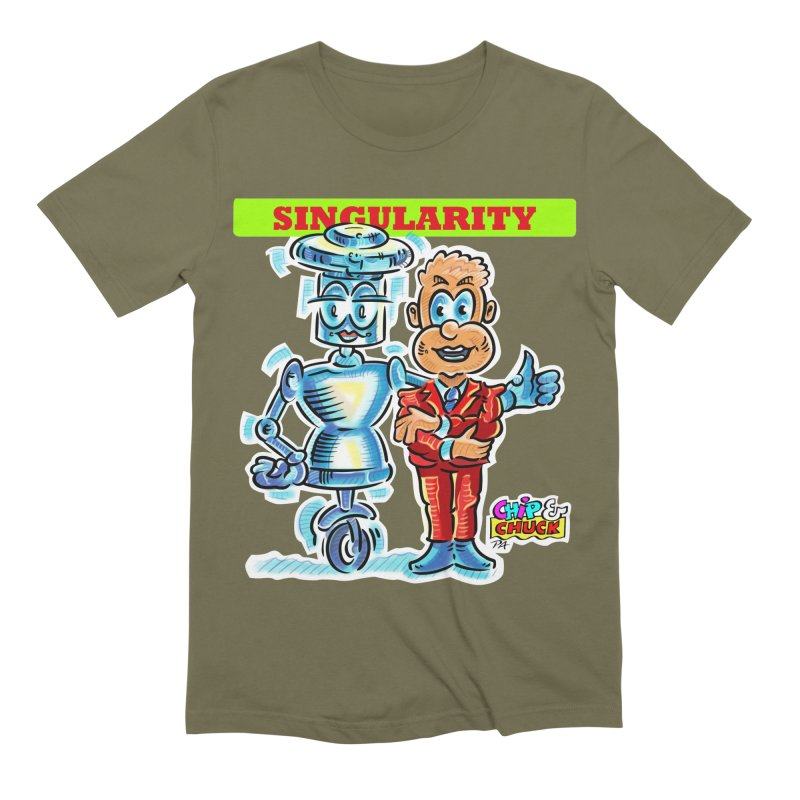 Singularity Men's Extra Soft T-Shirt by thethinkforward's Artist Shop