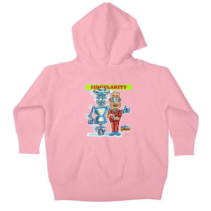 Singularity Kids Baby Zip-Up Hoody by thethinkforward's Artist Shop