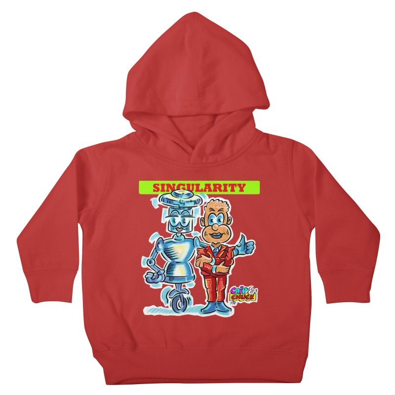 Singularity Kids Toddler Pullover Hoody by thethinkforward's Artist Shop