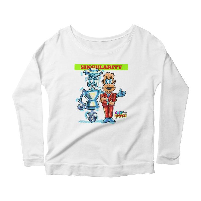 Singularity Women's Scoop Neck Longsleeve T-Shirt by thethinkforward's Artist Shop