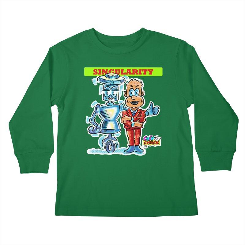 Singularity Kids Longsleeve T-Shirt by thethinkforward's Artist Shop