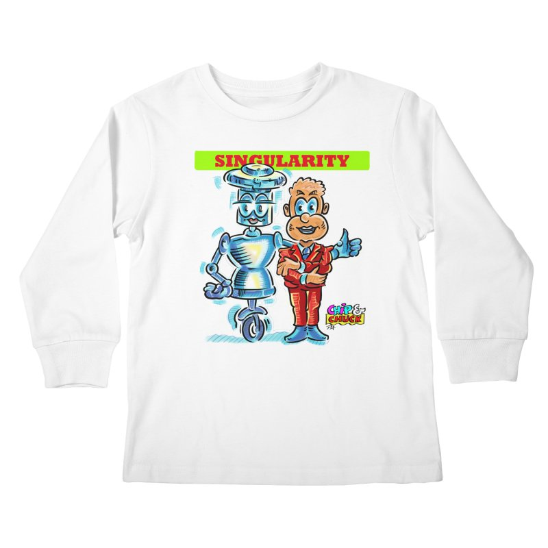 Singularity Kids Longsleeve T-Shirt by thethinkforward's Artist Shop