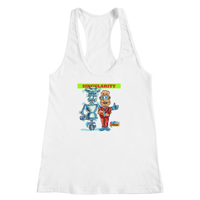 Singularity Women's Racerback Tank by thethinkforward's Artist Shop