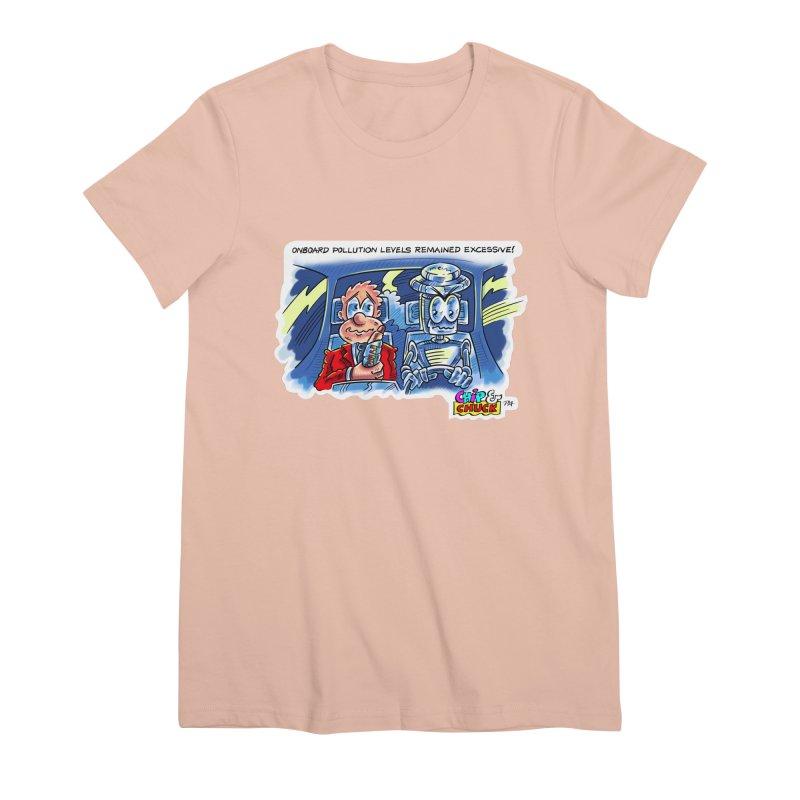 Chip & Chuck pollute Women's Premium T-Shirt by thethinkforward's Artist Shop