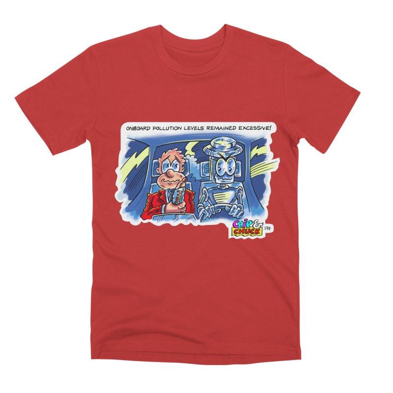 Chip & Chuck pollute Men's Premium T-Shirt by thethinkforward's Artist Shop