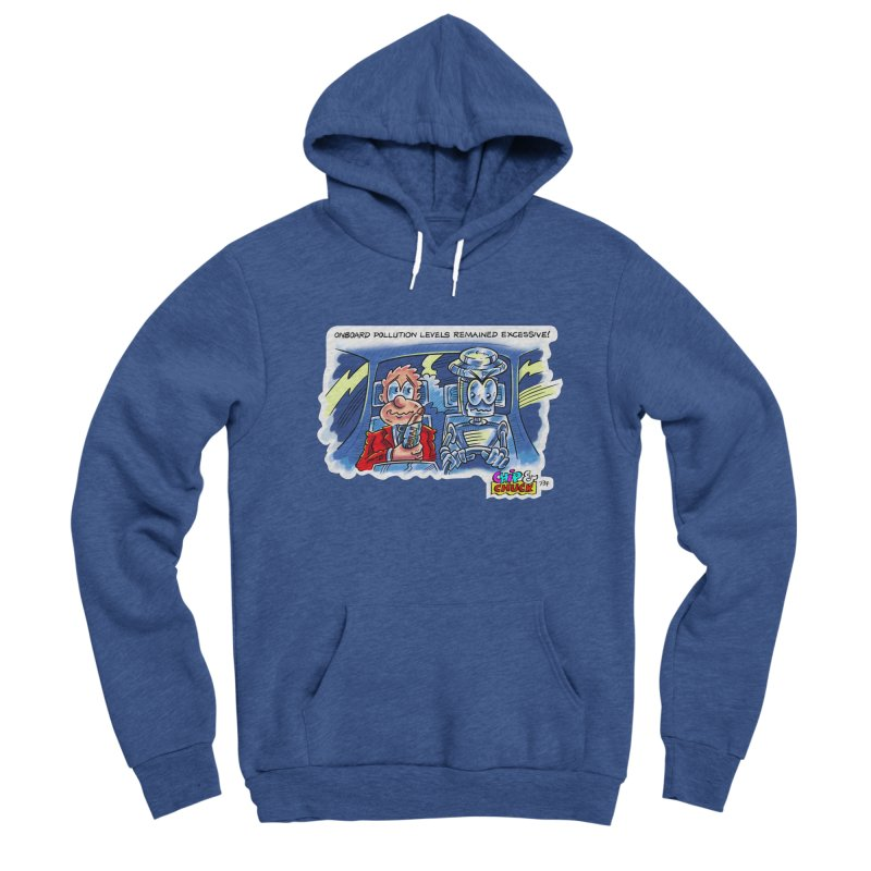 Chip & Chuck pollute Men's Sponge Fleece Pullover Hoody by thethinkforward's Artist Shop