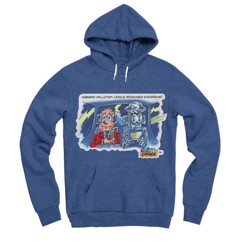 Chip & Chuck pollute Men's Sponge Fleece Pullover Hoody by thethinkforward's Artist Shop