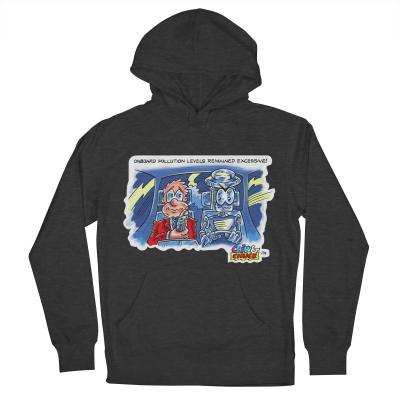 Chip & Chuck pollute Men's French Terry Pullover Hoody by thethinkforward's Artist Shop