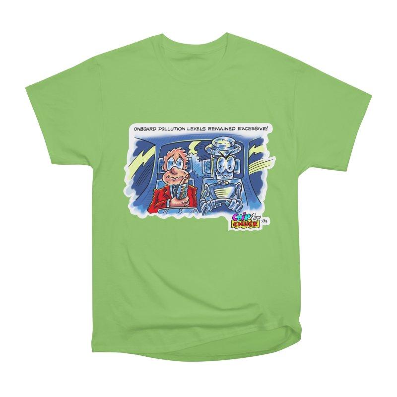 Chip & Chuck pollute Men's Heavyweight T-Shirt by thethinkforward's Artist Shop
